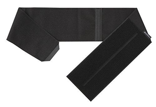 PHITEN Lightweight Single Waist Belt, Black, (Medium Single Light)