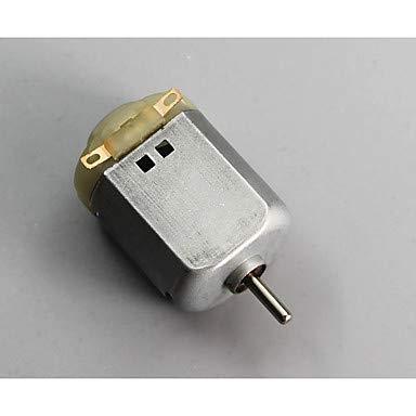 FOR-Arduino Kits, Motor de Corriente Continua Juguete DIY Motor pequeña producción 3v-6v Cuatro Ruedas Plaza Micro Motor...