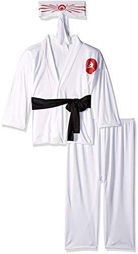 Geisha Doll Costume (RG Costumes Karate Boy Costume, White,)