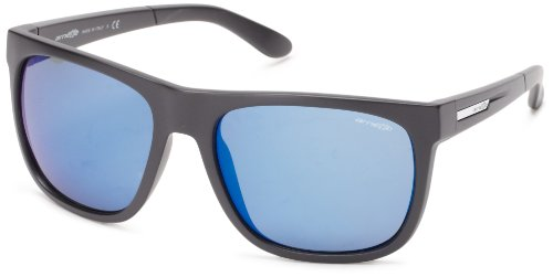 Arnette Fire Drill Matte Black / Blue Mirror Lens - Eyewear Arnette