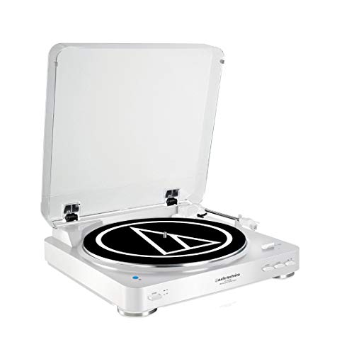 Audio-Technica Bluetooth Stereo Turntable White AUD ATLP60WH BT