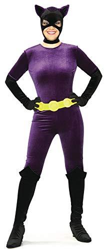 Catwoman Costume Purple (Rubie's Women's Batman DC Style Guide Gotham Girls Catwoman, Purple,)
