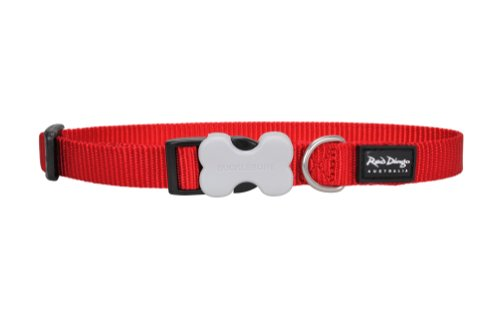 Red Dingo Dog Collar, Large, Red, My Pet Supplies