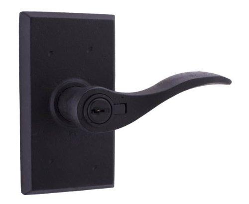 Weslock R7340H2H2SL20 Carlow Lever, Black