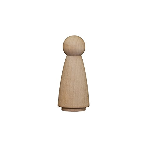 - Wood Doll Bodies - Girl 2 inch - Bag of 10