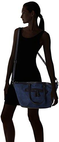 Bulaggi Pellon Shopper - Bolsos totes Mujer Azul (Dunkel Blau)
