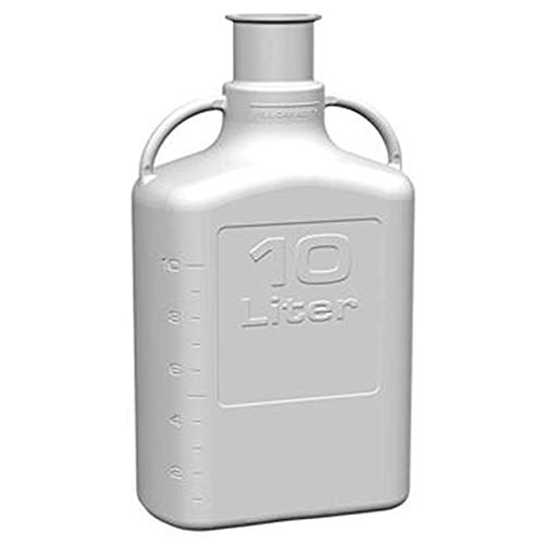 (EZgrip 10L (2.5 Gal) Autoclavable Polypropylene Sanitary Space Saving Carboy with 3 Inch Sanitary Neck and 13L Max Capacity)