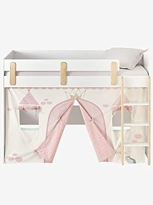 Vertbaudet Tente de lit Princesse féérique pour lit Mezzanine mi ...