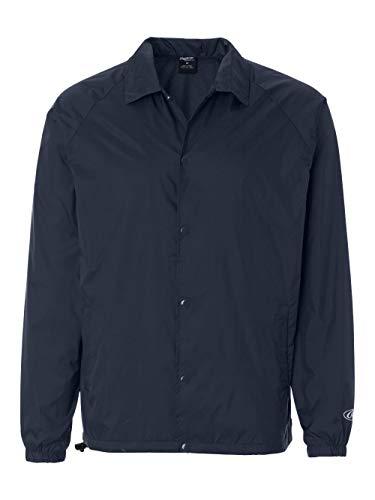 - Rawlings Adult Coaches Jacket (Navy) (XL)