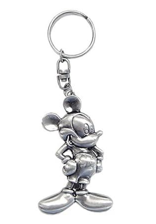 Disney Classic Mickey 2D Pewter Keyring