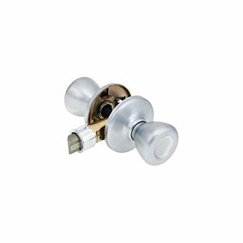 (Kwikset Corporation 200T-US26D-6AL-3437 Tylo Passage Lockset Dull Chrome)