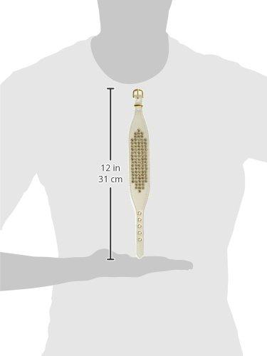 Evans Collars 12'' Lambskin Empress Collar, Small, Pearlized