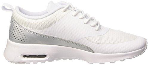 Nike Damen Air Max Thea Textile Sneaker Weiß (White/WhiteWhite/White)