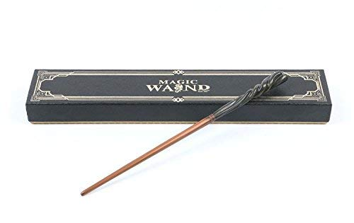 Cultured Customs Magical Wand Replica - Prop Cosplay Steel Core Replica Figure + Free Bonus Collectible Trading Card -