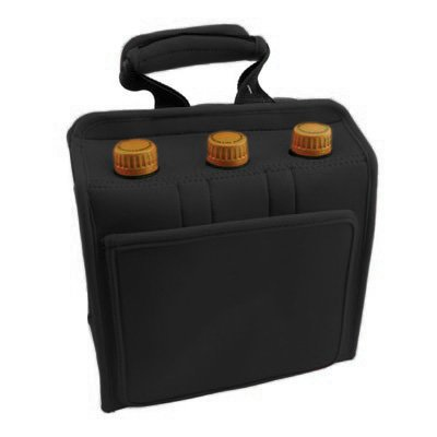 Quicnic Neoprene Insulated Six Pack Can or Bottle Cooler