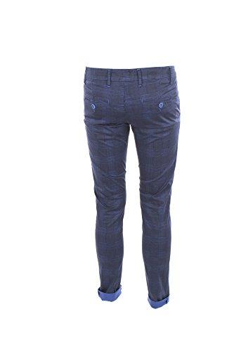 Pantalone Uomo Paris 46 Blu P2081 Primavera Estate 2018