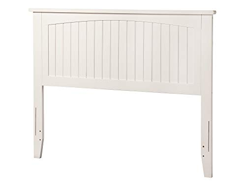 Atlantic Furniture AR282832 Nantucket Headboard, Full, White (Furniture Style Nantucket)