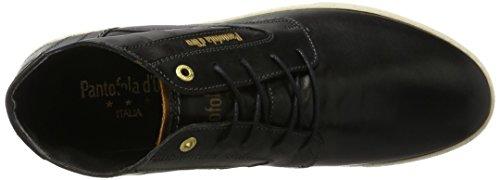 Black Alto Uomo d'Oro Pantofola Vigo 25y Nero a Sneaker Mid Collo BnzAOY