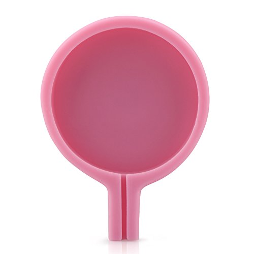 Beasea 4 inch Circle Molds Large Lollipop, Ice Pop Candy Mold Fondant Handmade Soap Jello Chocolate Maker Kitchen Tool Bakeware Set Cake Pan