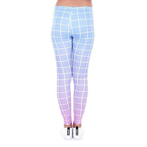 Stretch 3d Imprimés Pour Femmes Pantalons En Leggings XOYnnq