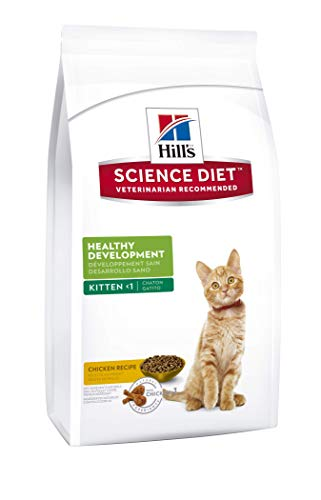 Hill's Science Diet Kitten Food, Healthy Development Chicken Recipe Dry Cat Food, 7 lb Bag by Hill's Science Diet (Image #1)