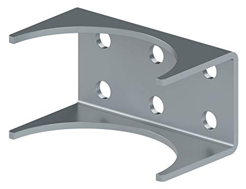 Round Post Adapter Brackets for Ghost Controls Gate Opener Systems to Adapt to Round Steel Posts (1. AX3R) by GHOST CONTROLS (Image #2)