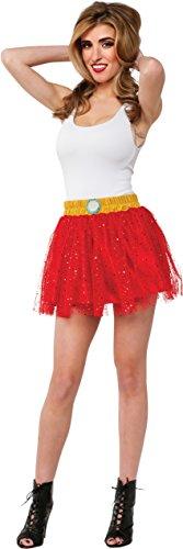 Rubie's Women's Marvel Universe Adult Iron Man Rescue Costume Skirt, Multi, One -