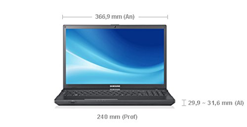 Samsung NP300V5A-S06ES - Ordenador portátil de 15.6 pulgadas (Intel Core i5- 2450M, 6GB DDR3 (1333MHz), 1TB, NVIDIA GeForce GT 520MX (1GB), Windows 7 Home ...