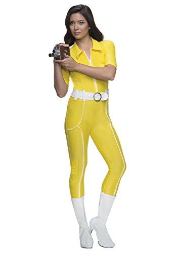 (Rubie's Costume Teenage Mutant Ninja Turtles Deluxe April O'neil Jumpsuit, Yellow, Large)