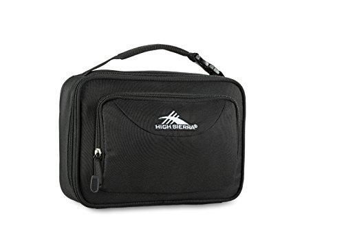 High Sierra Single Compartment Lunch Bag, Black