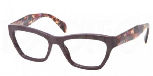 Prada PR14QV Eyeglasses-ROM/1O1 - Purple Glasses Prada