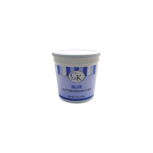 CK PRODUCTS DECORATING BUTTERCREAM ICING CAKE TOPPER 30 OZ BLUE (2PK)