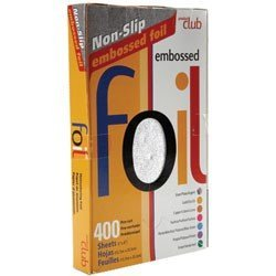 (Product Club Embossed Pre-Cut Foil Silver 400 Count)