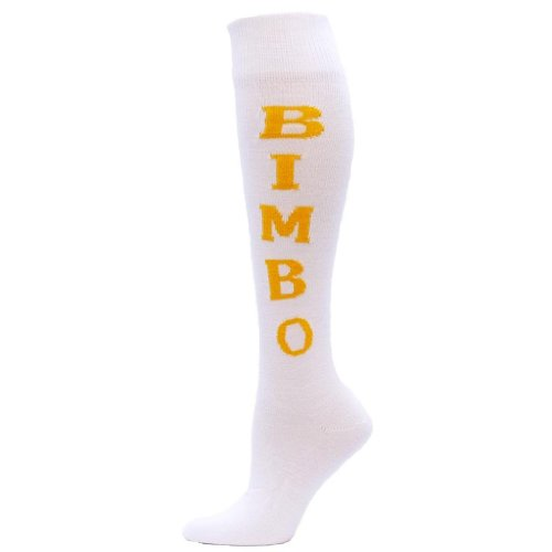 red-lion-bimbo-urban-word-sock-white-gold-medium-