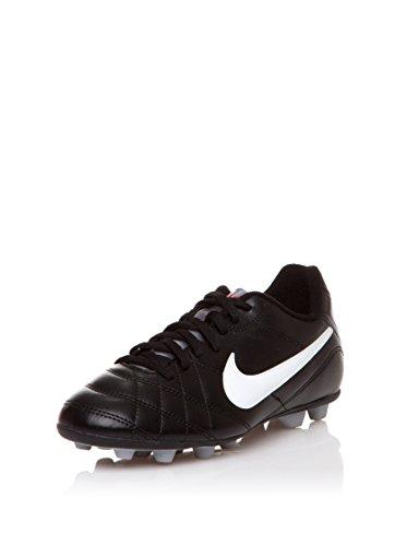 Nike Zapatillas de fútbol Jr Tiempo Rio Fg-R Negro EU 36