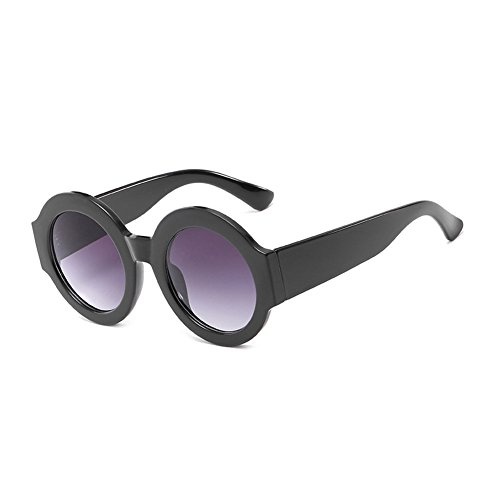 marco Gafas UV400 gafas CJ9006 Color C1 Moda CJ9006 de TL plástico sol de gafas hombre mujer grande Sunglasses de de sol sol de circular C1 de 6EnqBqzw1g