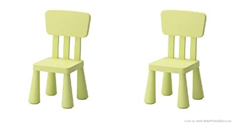 Ikeau0027s Mammut Childrenu0027s Chairs ...  sc 1 st  Amazon.com & Amazon.com: Ikeau0027s Mammut Childrenu0027s Chairs Light Green-(2 Pack ... islam-shia.org