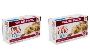 Fiber One 90 Calorie Bar Cinnamon Coffee Cake  2 Boxes of 12 24 Total