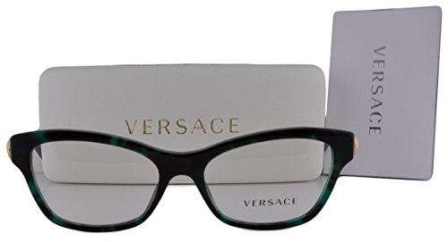Versace VE3214 Eyeglasses 52-16-140 Green Havana 5076 VE 3114 For - Glasses Versace Girl