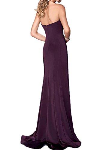 Linie Steine Ivydressing Traegerlos Traube Abendkleid Festkleid Promkleid Etui Modisch Damen Partykleid SA1AqX