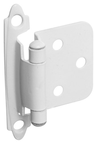 kitchen cabinet hinges white - 6