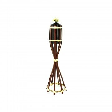 Kole Imports Wicker Tiki Torch - Set of 25 by Kole Imports