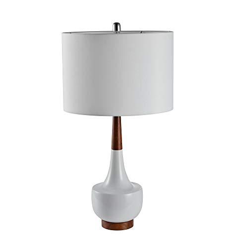 Sagebrook Home 50091-01 Ceramic Genie Table Lamp,White, ()