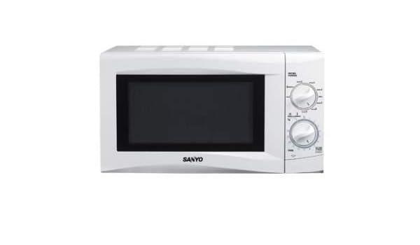 Sanyo - Microondas Emg206Aw, 20L, 800W, Congrill Simultaneo 1000W ...