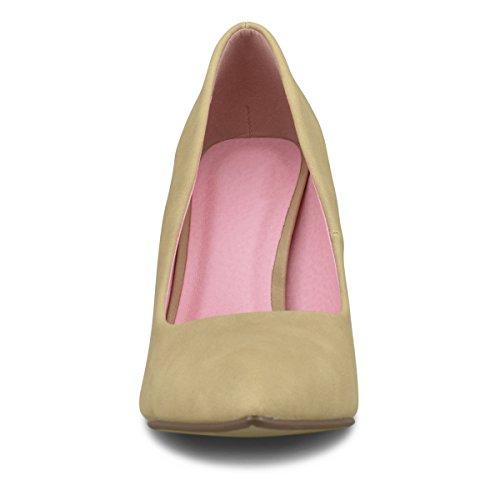 Standard Premier Shoes Heel Natural Pu Pump Women's UdZrxFd