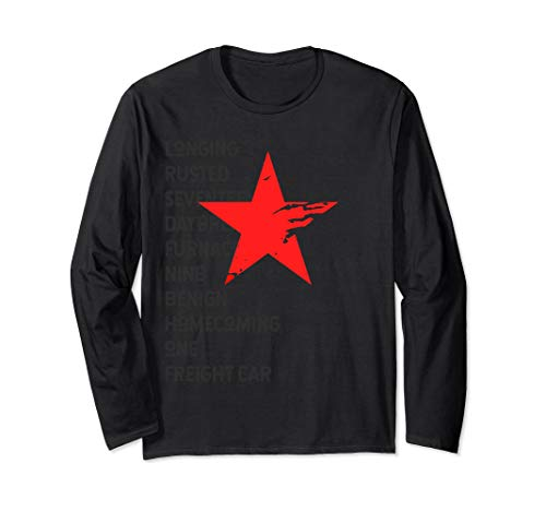 Red Soldier Trigger Words Winter Star Hero Long Sleeve Shirt]()