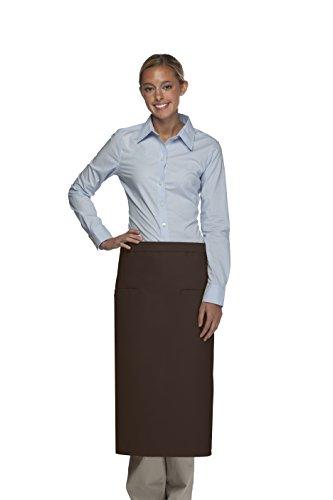 Averill's Sharper Uniforms Two Inset Pocket Bistro Apron 2 inset pocket (Set of 6) ()