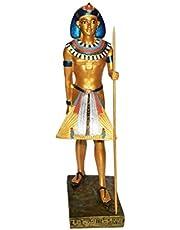 تمثال فرعوني قاه مقاس وسط 30 سم - ذهبي