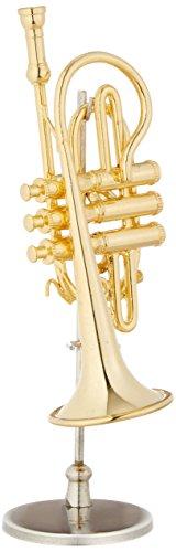[해외]SUNRISE SOUND HOUSE 선라이즈 사운드 하우스 미니어처 악기 코 넷 16 골드 / SUNRISE SOUND HOUSE Sunrise Soundhouse Miniature Instrument Cornet 16 Gold