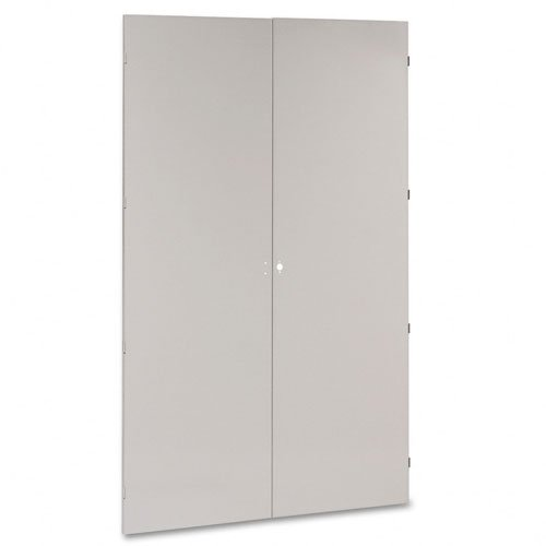 Tennsco J478LG 48 by 24 by 78-Inch Jumbo Steel Storage Cabinets, Light Gray by Tennsco
